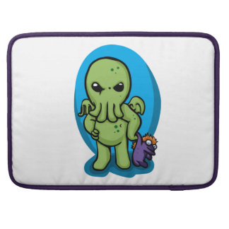 Baby cthulhu - cute cthulhu - cthulhu halloween MacBook pro sleeve