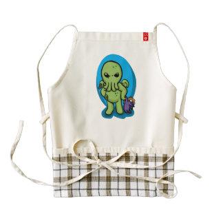 Baby cthulhu - cute cthulhu - cthulhu halloween zazzle HEART apron