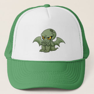 Baby Cthulhu is not amused Trucker Hat