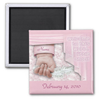 Baby (customizable) 2 inch square magnet