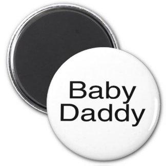 Baby Daddy 2 Inch Round Magnet