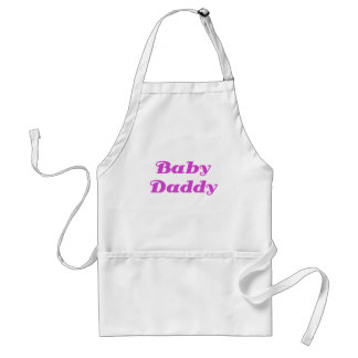 Baby Daddy Adult Apron