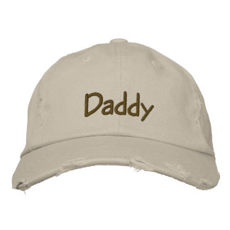 Baby Daddy Embroidered Cap
