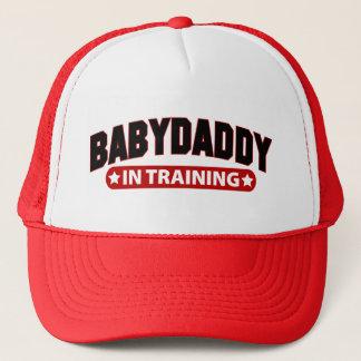 Baby Daddy In Training Trucker Hat