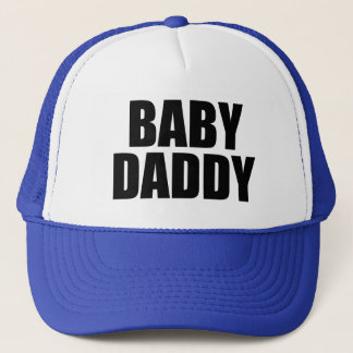 Baby Daddy men's funny Trucker Hat