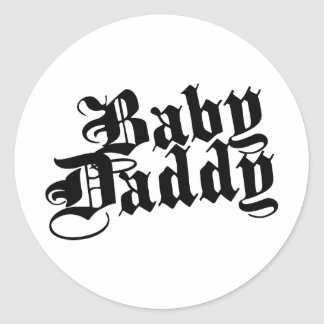 Baby Daddy Stickers