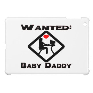 Baby Daddy Wanted iPad Mini Covers