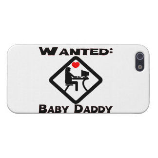Baby Daddy Wanted iPhone SE/5/5s Case