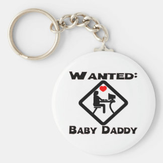 Baby Daddy Wanted Keychain