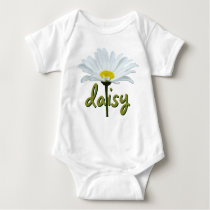 Baby Daisy Creeper Custom Daisy Flower Baby Top