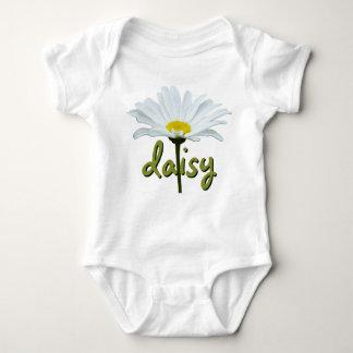 Baby Daisy Creeper Custom Daisy Flower Baby Top