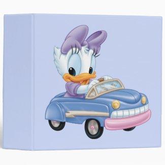 Baby Daisy Duck 3 Ring Binder