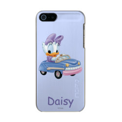 Incipio Feather Shine iPhone 5/5s Case with Baby Daisy Duck driving a car design