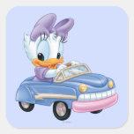 Baby Daisy Duck Square Sticker
