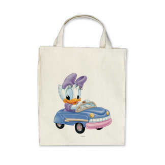 Baby Daisy Duck Tote Bags