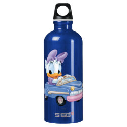 SIGG Traveller Water Bottle (0.6L) with Baby Daisy Duck driving a car design