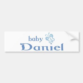 Baby Daniel Bumper Sticker