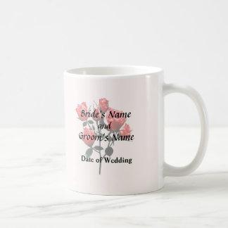 Baby Dark Pink Roses Coffee Mug