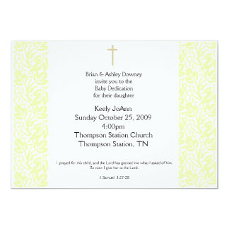 Baby Dedication Invitations & Announcements | Zazzle