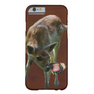 Baby Deer and butterfly Barely There iPhone 6 Case