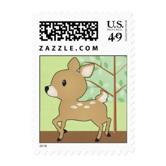 Baby Deer Fawn Postage