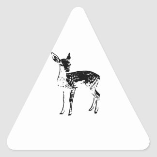 Baby Deer - Fawn Triangle Sticker
