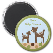 Baby Deer Forest Party Favor Magnets
