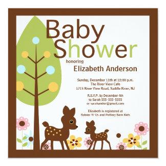 Baby Deer Gender Neutral Baby Shower Invitation