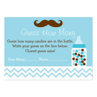Baby Deer Guess How Many Cards Large Business Cards (Pack Of 100)