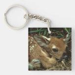 Baby Deer Keychain Acrylic Key Chain