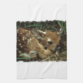 Baby Deer Kitchen Towel