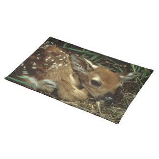 Baby Deer Placemat Cloth Placemat