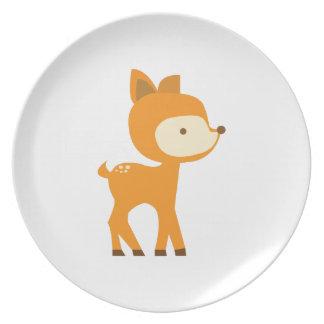 Baby Deer Plate