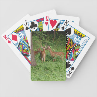 Baby Deer Pow-Wow Bicycle Playing Cards