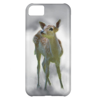 Baby deer's curiosity cover for iPhone 5C