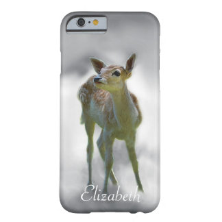 Baby deer's curiosity customize barely there iPhone 6 case