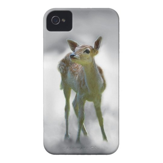 Baby deer's curiosity iPhone 4 cover