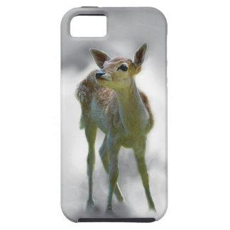 Baby deer's curiosity iPhone SE/5/5s case