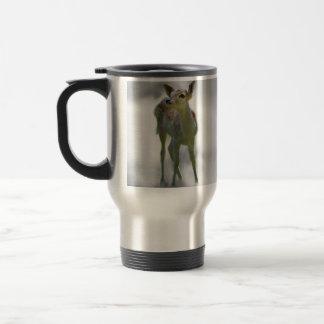 Baby deer's curiosity coffee mug