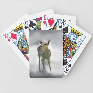 Baby deer's curiosity bicycle card decks
