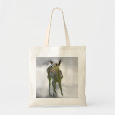 Baby Deer's Curiosity Tote Bag at Zazzle
