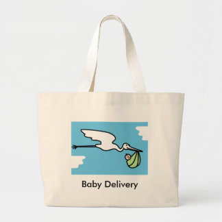 Baby Delivey Tote Bag (customizable)
