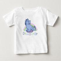 Baby Democrat Donkey Baby T-Shirt