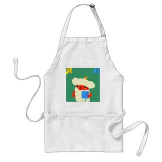 Baby demon adult apron