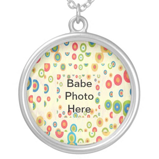 Baby Designs - Add Bebe Photo Customizable Necklace