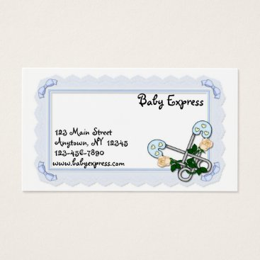 Professional Business Baby Diaper Pins Business Card