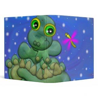 Baby Dino 3-Ring Binder binder