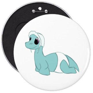 Baby Dino 6 Inch Round Button