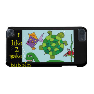 """BABY DINO """"i like to make bubbles""""  iPod Touch 5g iPod Touch (5th Generation) Cases"""