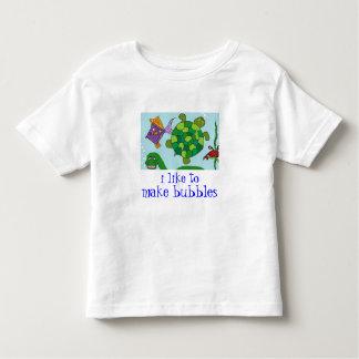 "BABY DINO ""i like to make bubbles"" Tees n Shirts"